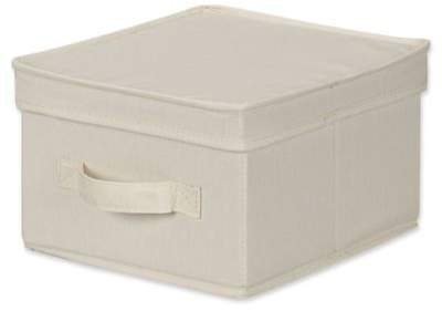 Medium Canvas Storage Box in Natural