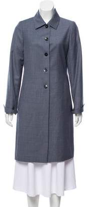 Loro Piana Wool Knee-Length Coat