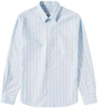 Ami Striped Oxford Shirt