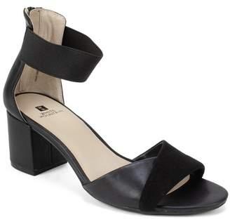 White Mountain Evie Faux Leather Ankle Sandal