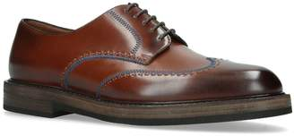 Fratelli Rossetti Contrast Stitch Derby Shoes