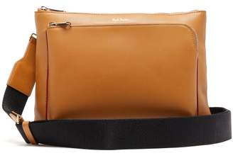 Paul Smith Leather Cross Body Bag - Mens - Tan