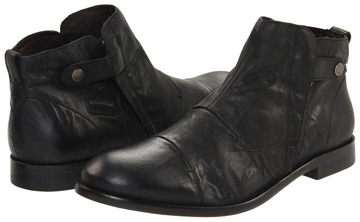 John Varvatos Sid Boot (Coal) - Footwear