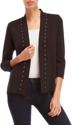 Rafaella Open Studded Cardigan