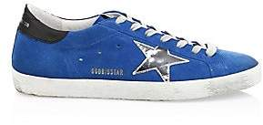 Golden Goose Men's Men's Electric Superstar Leather Sneakers