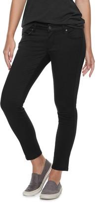 Sonoma Goods For Life Women's SONOMA Goods for Life Petite Sateen Mid-Rise Skinny Pants