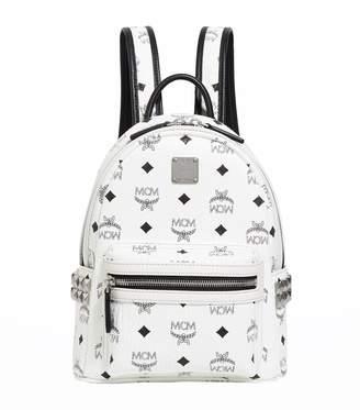 MCM Mini Stark Stud Backpack