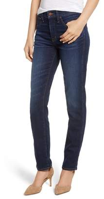 Caslon High Waist Slim Straight Jeans