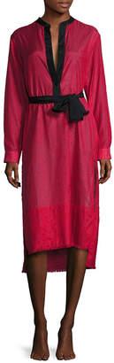 Proenza Schouler Fringe Shirt Dress