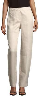 Hobbs Women's Faye Linen Blend Trousers