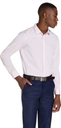 yd. PINK LARGO SLIM FIT DRESS SHIRT