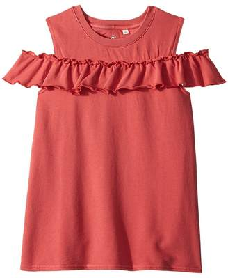AG Adriano Goldschmied Kids Newport Cold Shoulder Top Girl's Clothing