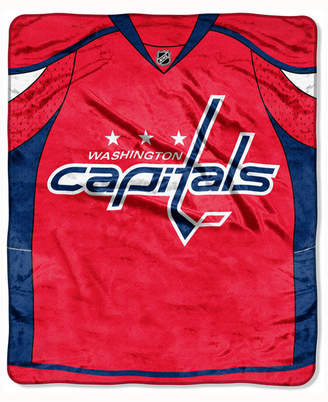 Northwest Company Washington Capitals 50x60in Plush Throw Jersey