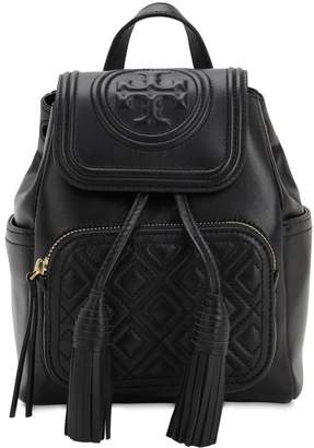 Tory Burch FLEMING MINI QUILTED LEATHER BACKPACK