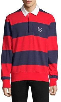 Rag & Bone Relaxed Fit Striped Rugby Shirt
