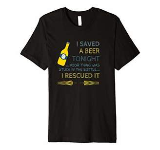 I Saved A Beer Terry Tshirt