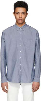 Schnaydermans Blue Twill Leisure Shirt