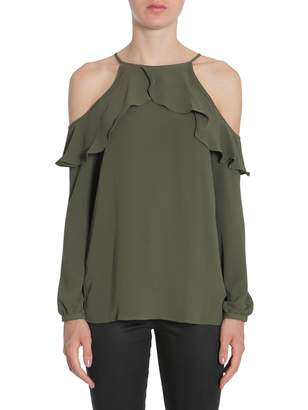 MICHAEL Michael Kors Ruffled Shirt