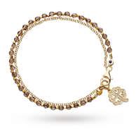 Astley Clarke Smoky Quartz Four Leaf Clover Biography Bracelet