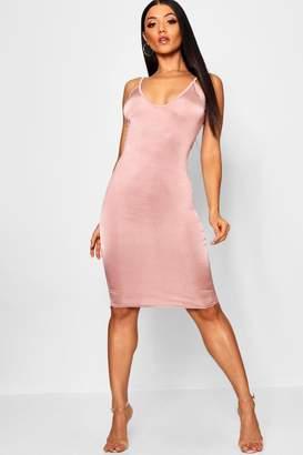 boohoo Strappy Midi Dress