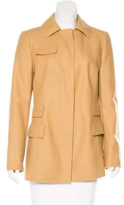 Akris Punto Wool Collared Jacket