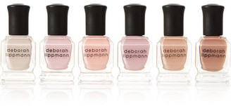 Deborah Lippmann - Undressed Nail Polish Set - Beige $34 thestylecure.com