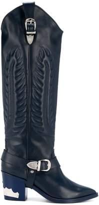 Toga Pulla knee high cowboy boots