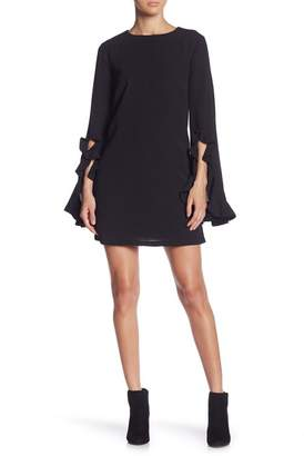 Do & Be Do + Be Ruffle Sleeve Shift Dress