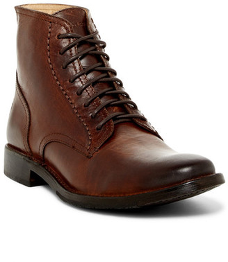 Frye Oliver Lace-Up Boot $298 thestylecure.com