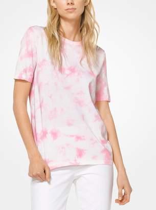 Michael Kors Tie-Dye Cotton T-Shirt