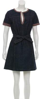 See by Chloe Denim Shift Dress
