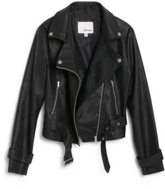 Moto Maddie Faux Leather Jacket
