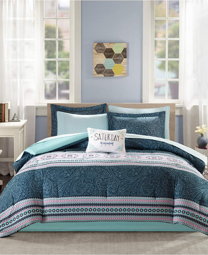 Intelligent Design Gemma 9-Pc. Queen Comforter Set Bedding