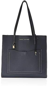 Marc Jacobs Women's Grind T Pocket Leather Tote Bag