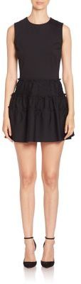 RED Valentino RED Valentino Solid Sleeveless Dress