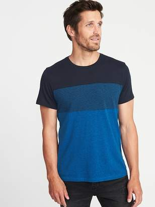 Old Navy Color-Blocked Chest-Stripe Tee for Men