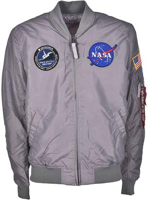 Alpha Industries Nasa Patch Bomber