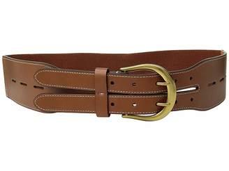 Lauren Ralph Lauren Cornwall Smooth PU/Stretch Belt
