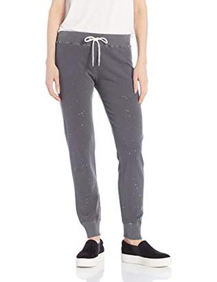 Monrow Women's Cuff Sweats w/Splatter Foil