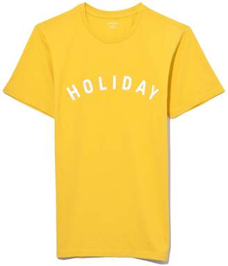 Holiday Logo T-Shirt in Yellow