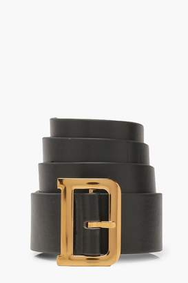 boohoo D Buckle Belt