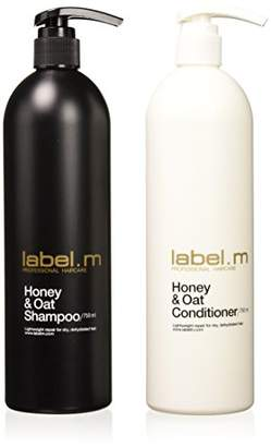 Label.M Honey & Oat Shampoo And Conditioner 750 ml Each /25 Oz by