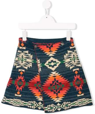 Ralph Lauren Kids TEEN patterned skirt