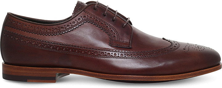 Paul SmithPaul Smith Wells leather Derby shoes