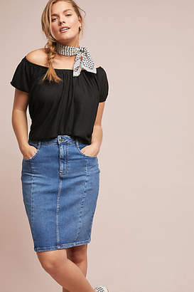 Porridge Meadowlands Off-The-Shoulder Top