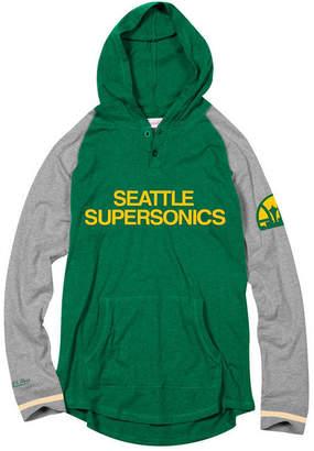 Mitchell & Ness Men Seattle SuperSonics SlugFest Hoodie