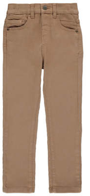 George Tan Skinny Twill Trousers