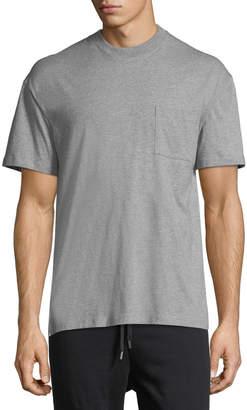 Public School Gilham Woven-Back T-Shirt