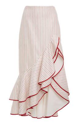 Alexis Garnet Ruffled Skirt