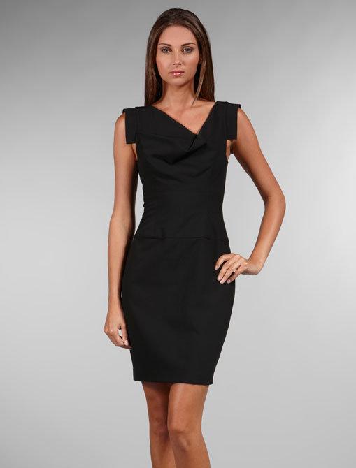 Black Halo Jackie Mini Dress
